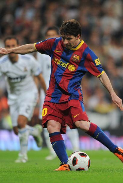 Lionel Messi fue el encargo de cobrarlo.