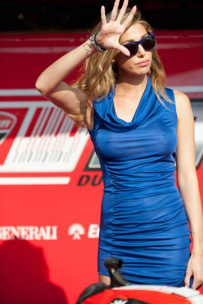 Belén Rodríguez, la ex de Borriello