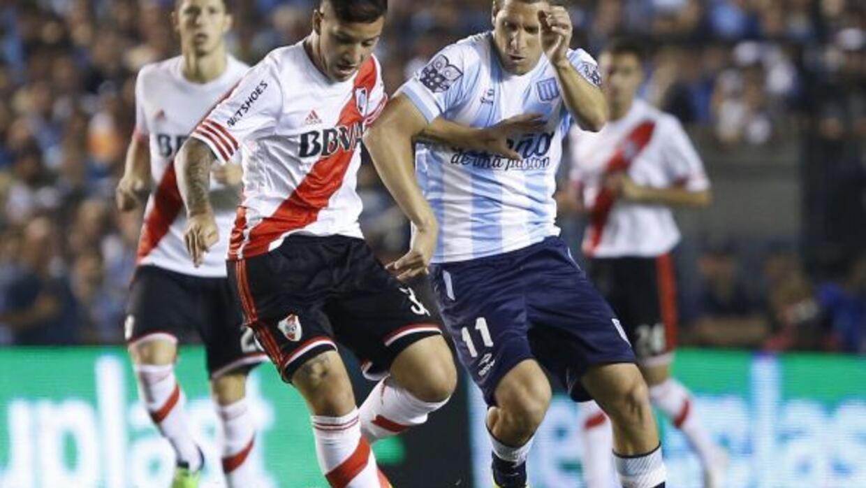 LOs dos equipos pelean el título del fútbol argentino.
