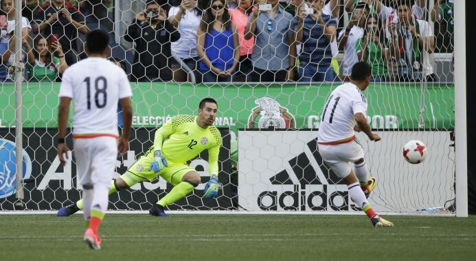 Con Pulido lesionado, triste triunfo del 'Tri' rumbo a Copa Oro AP_17183...