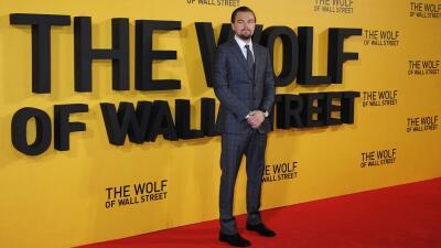"""Leonardo DiCaprio en presentación de """"The Wolf of Wall Street"""" en Londres"""