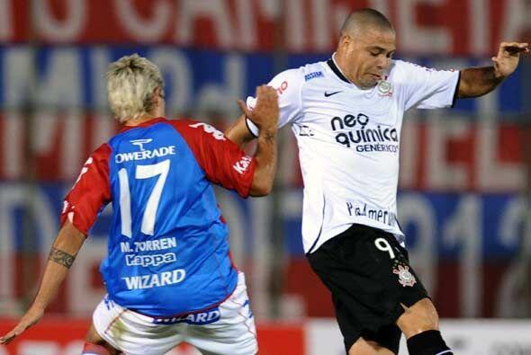 """El gol del """"Timao"""" lo convirtió Ronaldo a los 41 minuto..."""
