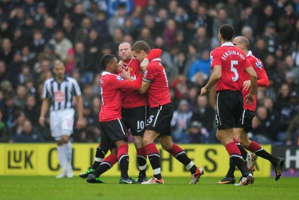 El 'Man-U' festejó el primer gol del 2011.