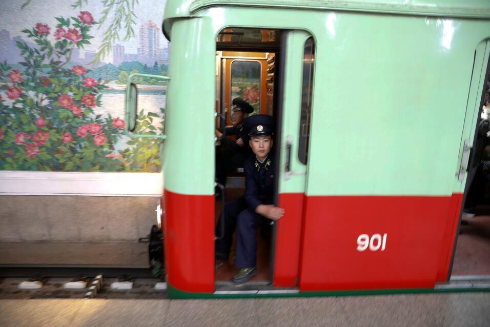 El metro de Pyongyang
