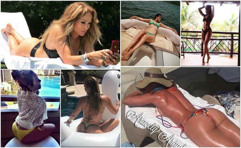 Famosas y sus bikinis en verano