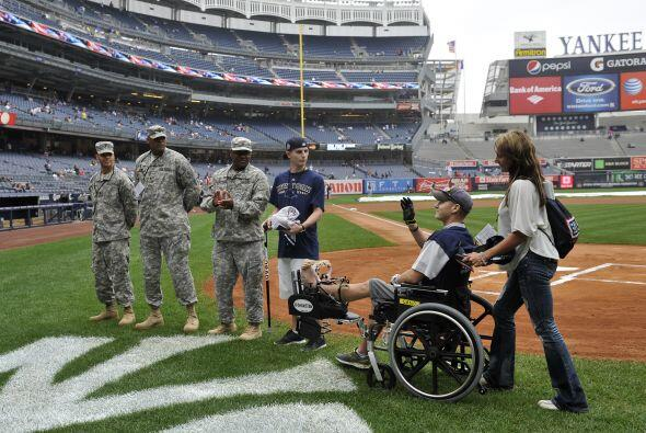 Los soldados proveníandel Centro Nacional Médico Militar Walter Reed y...