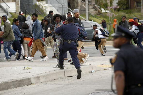 La ciudad, que cuenta con casi dos tercios de la población afroamericana...