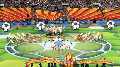 ¡Qué gran fiesta! Así se encendió Rusia 2018 en su ceremonia inaugural