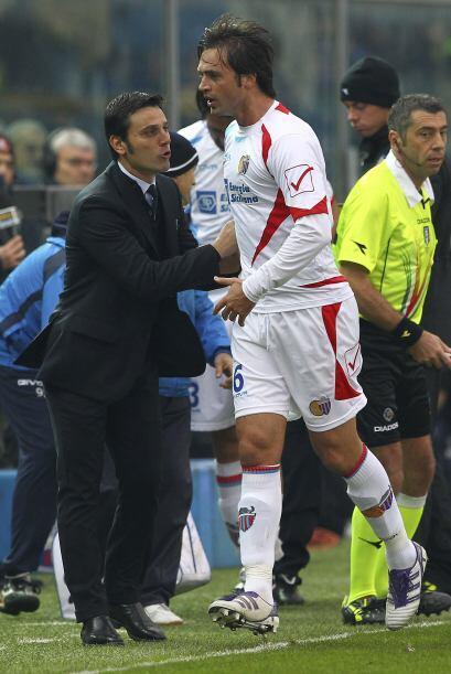 El futbolista del Catania triunfo por algunos años con la Juventus, pero...