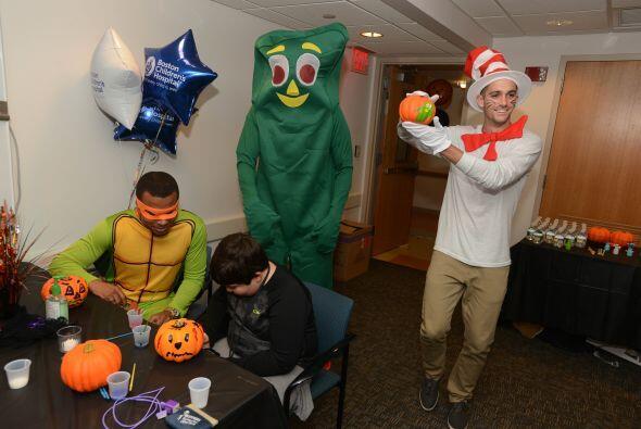 Darrius Barnes hizo una buena obra de Halloween