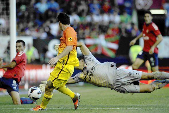 Ya fueran, Alexis, Iniesta, Messi o Tello, pero el ataque barcelonista s...