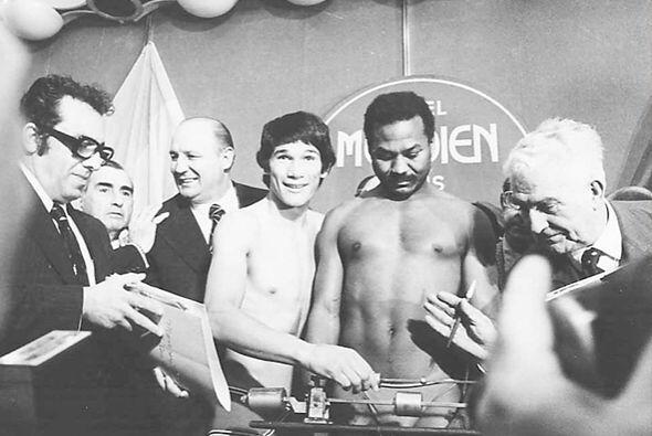 Desde 1975 se hizo cargo de la presidencia del Consejo Mundial de Boxeo.