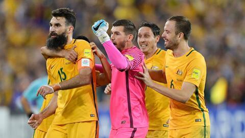 Australia superó 3-0 a Honduras y se clasificó a Rusia 2018.