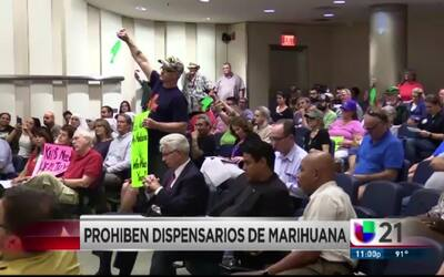 Prohiben dispensarios de marihuana