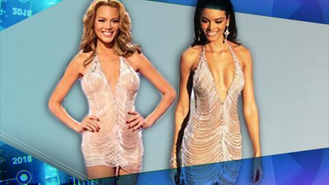 A Sofía Vergara no es la única que le gusta repetir vestidos: Zuleyka Ri...