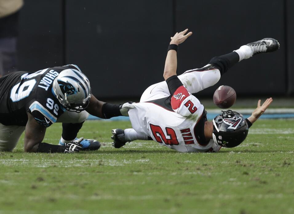 Los Carolina Panthers se pusieron a tres juegos de una temporada regular...