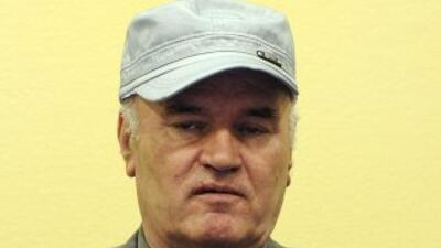 El general serbobosnio Ratko Mladic entró en los anales de la historia c...