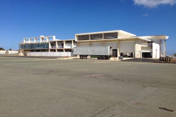 El proyecto de construcción más significativo en el Aeropuerto de Aguadi...