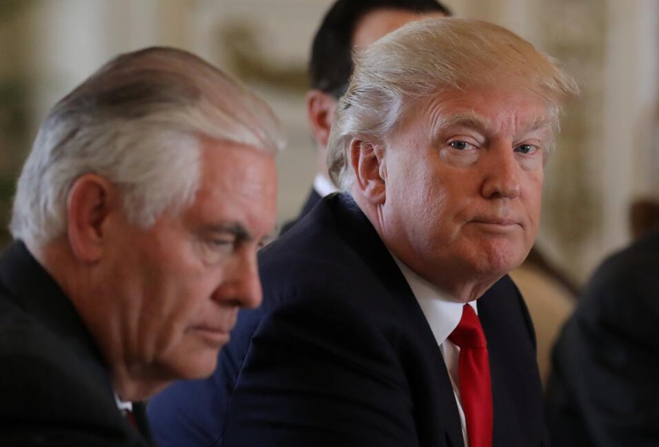 Tillerson y Trump