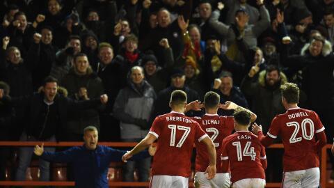 El Nottingham Forest milita en la segunda categoría del fú...