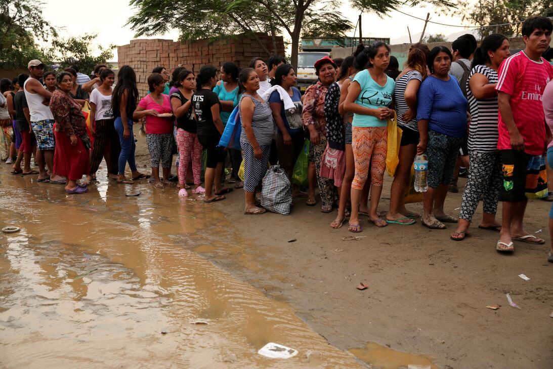 Inundación Perú
