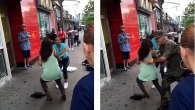 Pelea sangrienta entre dos parejas en Harlem