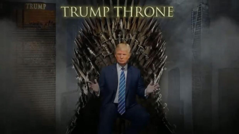 Trump es fanático de Game of Thrones