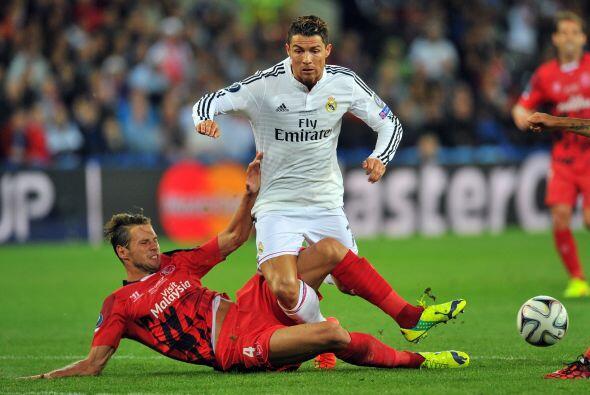 Los focos rojos se prenderían tras una entrada sobre Ronaldo en la recta...