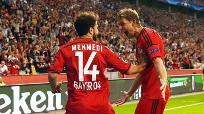 Leverkusen, a fase de grupos de Champions'