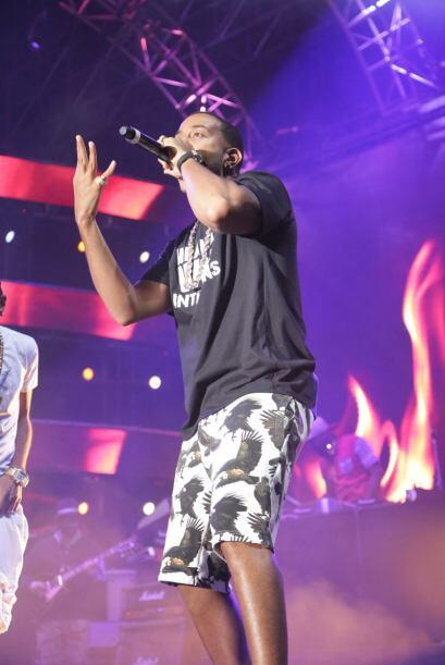 Ludacris rocked the main stage at the Uforia Music Festival, bringing hi...