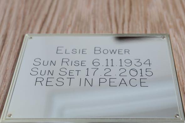 Elsie murió en el hospital después de sufrir varios problemas médicos.