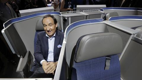 Oscar Munoz, CEO de United Airlines