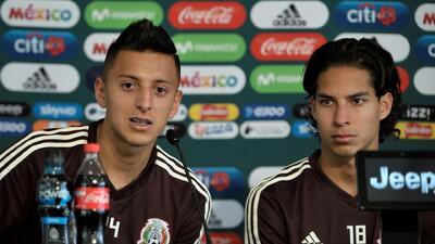 Las dos 'joyas' mexicanas disputarán su primer partido ante Estados Unidos