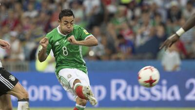 El canterano de Chivas marcó un golazo en semifinales ante Alemania.