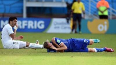 Suárez está en el ojo del huracán por haber mordido a Giorgio Chiellini.