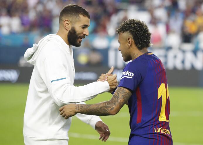 Los últimos momentos de Neymar como jugador de Barcelona 636369838250368...