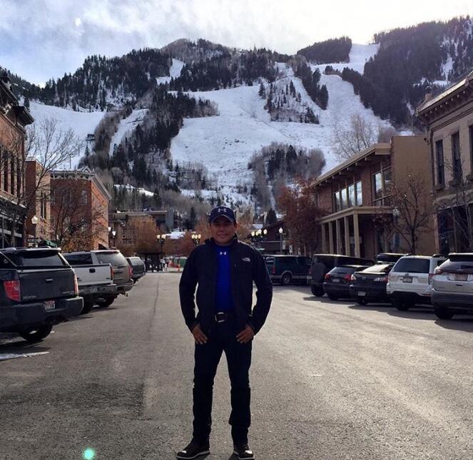 Raul Brindis nos comparte estas fotos de su viaje a Aspen, Colorado.