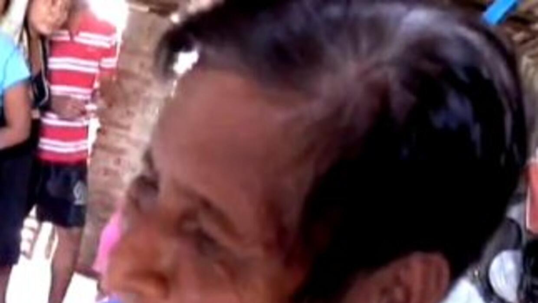 Imagen tomada del video del reportero de Univision News, Manuel Rueda.