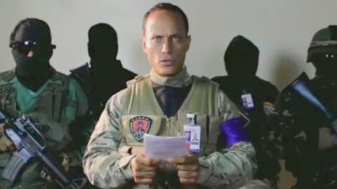 Él es Óscar Pérez, el nuevo opositor de Maduro que sobrevoló Caracas en...