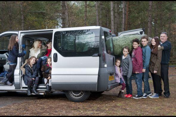 Sin embargo, hay cosas que son más fáciles para esta familia de Bournemo...