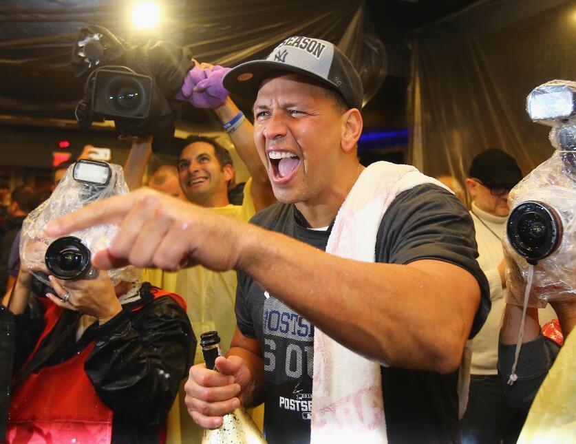 Tras una largo año de suspensión, Alex Rodríguez volvió a las Grandes Li...