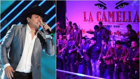 Julión Álvarez y su norteño banda se presentaron en sus inicios en el sa...