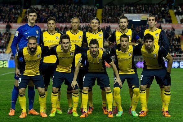 Por su parte, el Atlético Madrid ganó en campo del Rayo Vallecano por 4-...