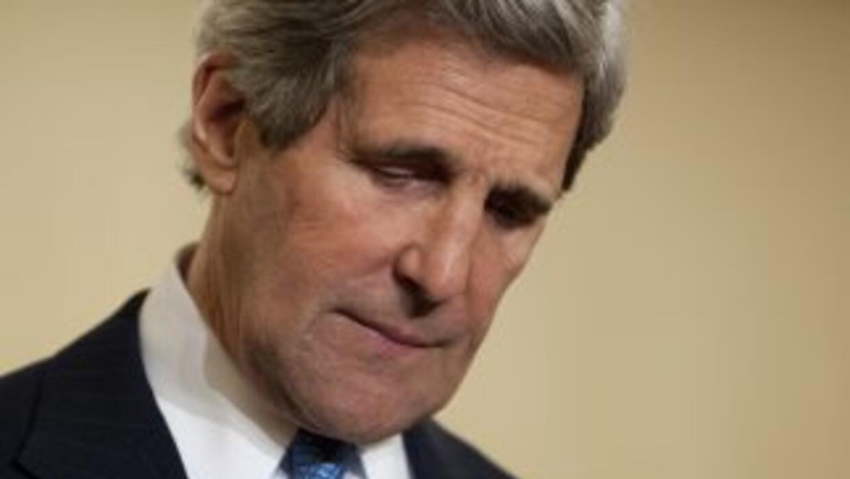 El secretario de Estado de Estados Unidos, John Kerry.