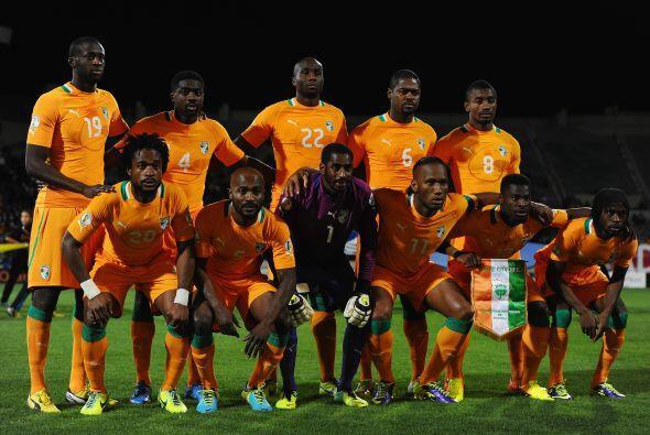 Costa de Marfíl es una de las selcciones más poderosas de África y desea...
