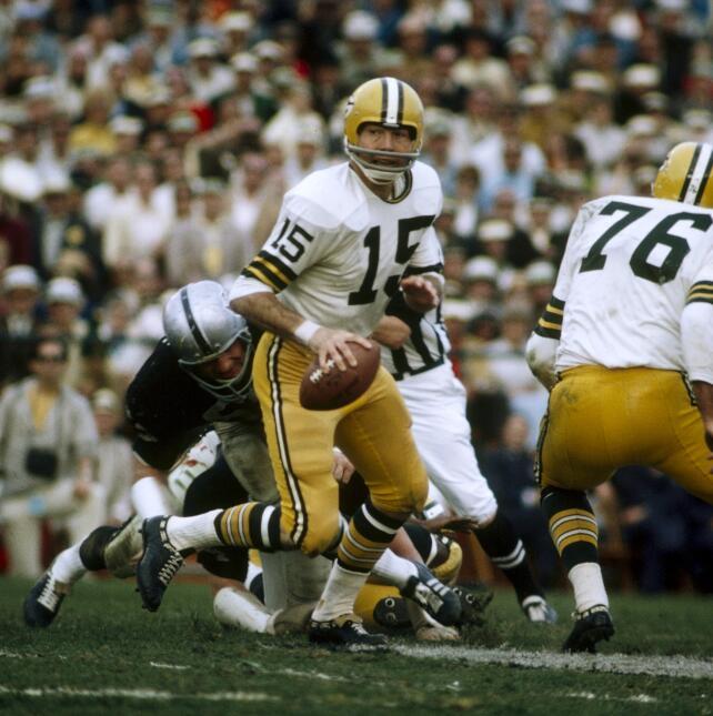 Recuerdo del Super Bowl II: Green Bay Packers - Oakland Raiders