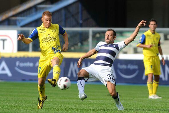 Chievo Verona recibió a la Lazio, que en caso de ganar podría treparse a...