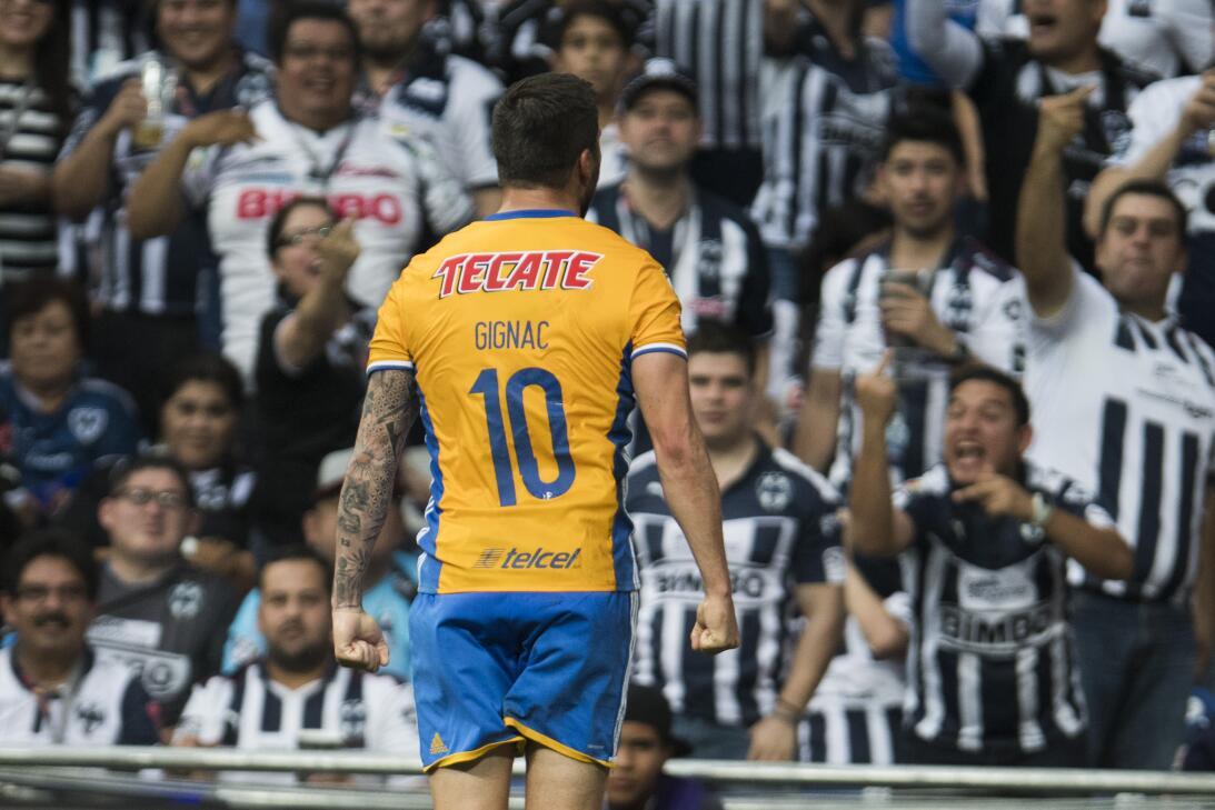 André-Pierre Gignac volvió a tener otra jornada de ensueño para Tigres e...