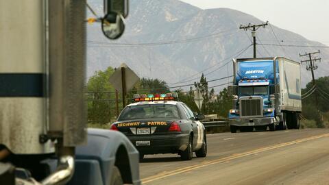 Alerta en el gremio de conductores por el uso de un vehículo pesado en a...