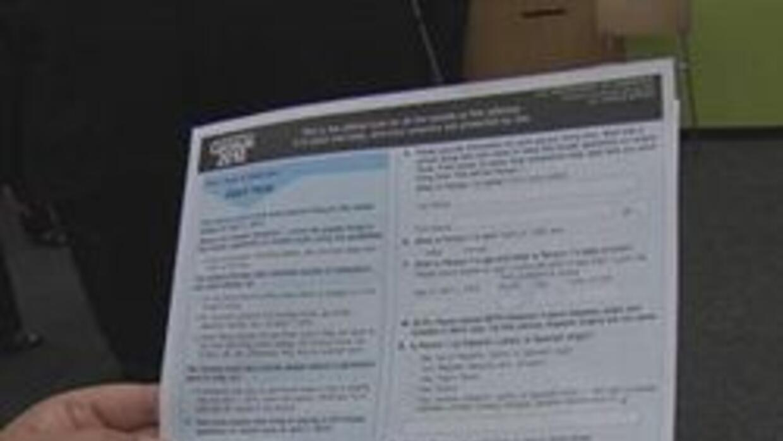 Forma del censo 2010